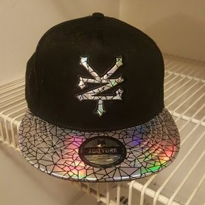e999250987d Holographic Zoo York Snapback
